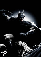 Batman: Darkfall (in color) by Hal-2012
