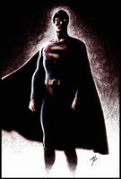 Christopher Reeve as Superman by Hal-2012