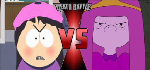 SOLD: Wendy Testaburger VS Princess Bubblegum by lh1200