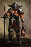 Barbarian by Cota-Art