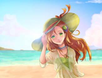 Beach Girl by NarutoLover6219