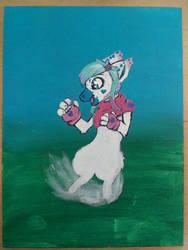 WIP- Field Of Adventure- Sonny Painting by Pr3ttyInPunkk