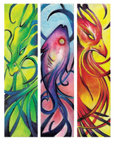 Mythical Bookmarks by shinigami714