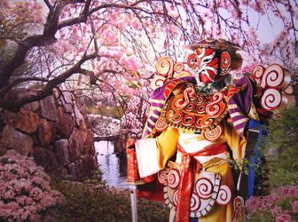 Yojimbo and the Sakura by shinigami714