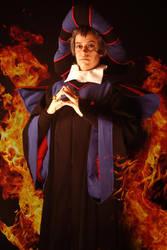 Judge Claude Frollo by shinigami714