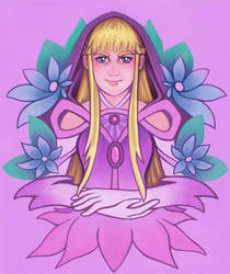 Magical Girl Relena by shinigami714