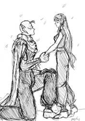 Marry me sketch by Yashika