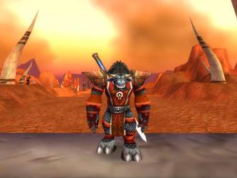 WoW Tauren Warrior by Naruto224