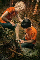 Percabeth - Lost without you by CosplaySymphony