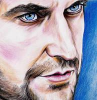 Richard Armitage, blue eyes by jos2507