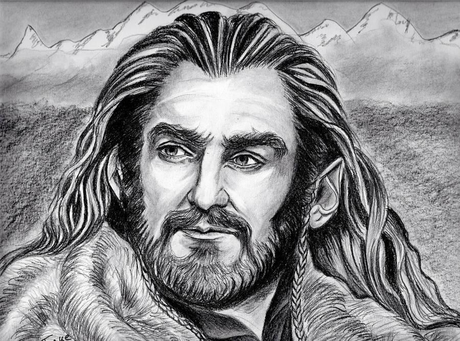 Richard Armitage - Thorin King Under the Mountain by jos2507