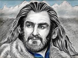 Richard Armitage Thorin, King Under the Mountain b by jos2507