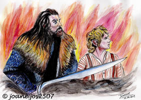 BILBO and THORIN, Martin and Richard by jos2507