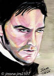 Richard Armitage, Thornton, watercolor by jos2507
