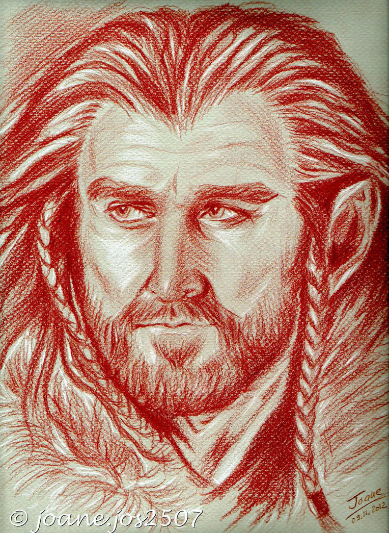 Richard Armitage, Thorin Oakenshield sanguine by jos2507