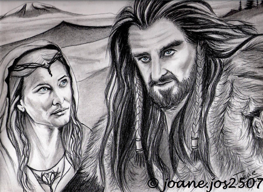 Cate Blanchett and Richard Armitage by jos2507