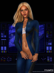 invisible woman by Fygomatic