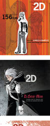 Living in 2D Mag - Covers by littlearashi