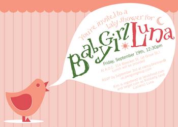 Baby Shower Invite by littlearashi