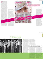 Magazine Departments by littlearashi