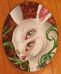 4 eyed rabbit by jesserix
