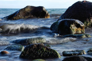 stones and sea  I by Wilithin