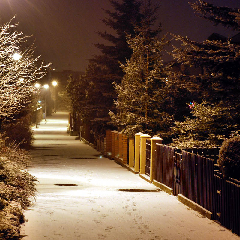 winter night by Wilithin