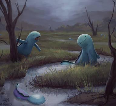 Quagsire marsh by mcgmark