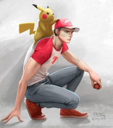 Trainer Red by mcgmark