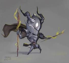 Lil Warlock by mcgmark