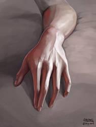 Hand study by mcgmark