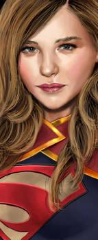 Supergirl in progress by daniel-morpheus