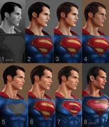 Henry Cavill as Superman in Batman v Superman by daniel-morpheus