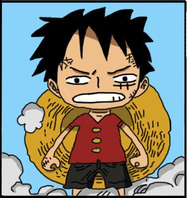 Luffys Third Gear Chibi By JuviaLockser1026