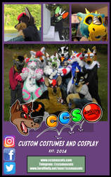COMMISSIONS OPEN! by CCS-Mascots