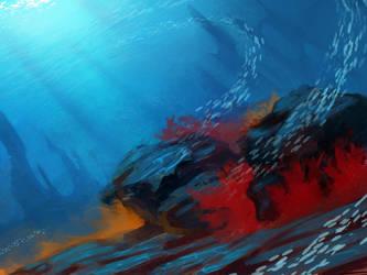 underwater kingdom by Kanaret