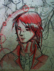 Red Shadow Vampire by Sluagh