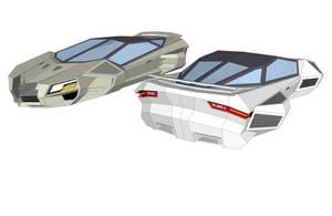 Anti Gravity Car II by pangeranberbajuputih
