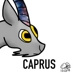 Caprus, my other goat oc by Petita72