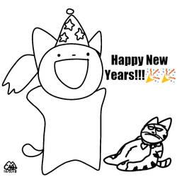 Happy New Years!! by Petita72