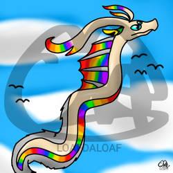 Dragon redraw by Petita72