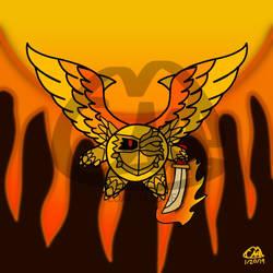 The phoenix knight by Petita72