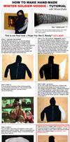 Winter Soldier Hoodie - TUTORIAL by UnicatStudio
