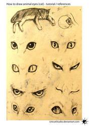 Animal Eyes Tuto by UnicatStudio