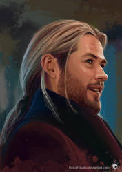 Thor - Worthy (digital painting) by UnicatStudio
