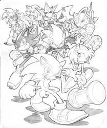 Hedgehog Havoc by Yardley