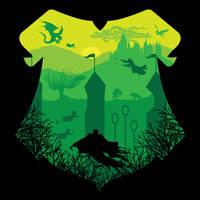 Hogwarts by johnnygreek989