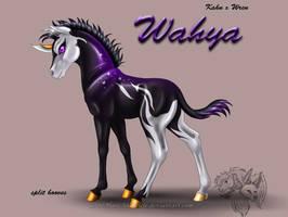 Kahn x Wren - Wahya by FlareAndIcicle