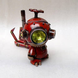 Tinker the Junkyard Munny 2 by TheYoshinator