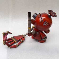 Tinker the Junkyard Munny 3 by TheYoshinator